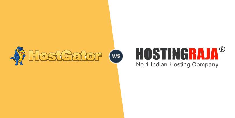 HostGator Vs HostingRaja