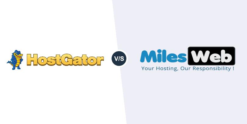 HostGator vs MilesWeb